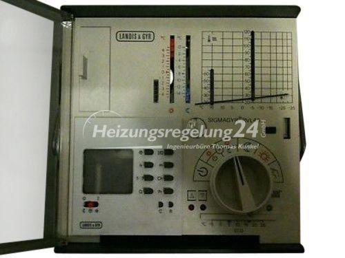Landis & Gyr RVL46 RVL 46 Regelung Steuerung Digital Uhr