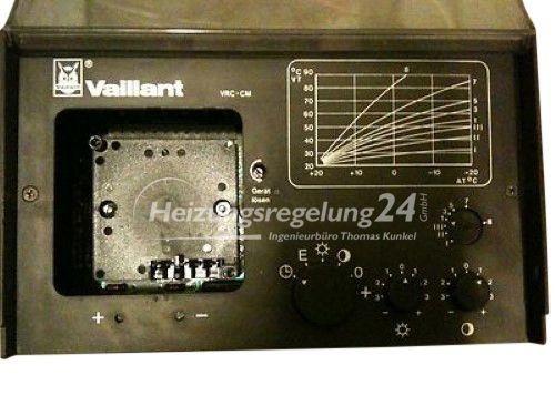 Vaillant VRC-CM Steuerung Regelung ohne Uhr