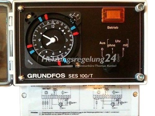 Grundfos SES 100/T Pumpensteuerung