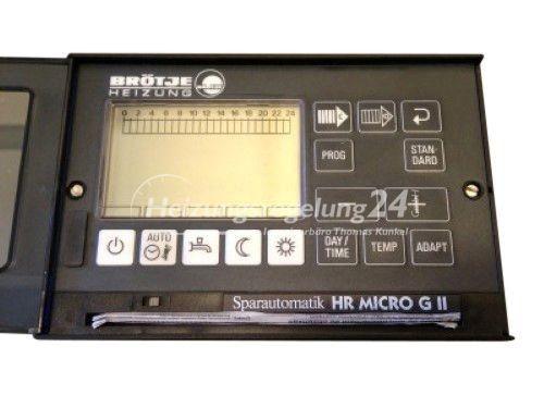 Brötje HR MICRO G II 2 Steuerung Regelung