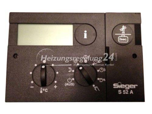 Siegermatic S52A S 52 A Steuerung Regelung