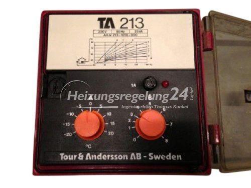 Tour & Andersson TA 213 Steuerung Regelung