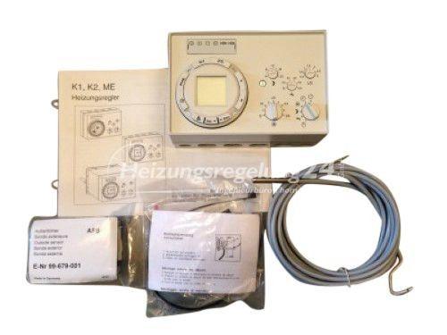 Kromschröder K1 Steuerung Regelung Digitaluhr Komplett-Set