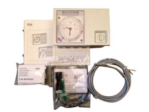 Kromschröder E25.0100 Q-T/W Steuerung Regelung Komplett-Set
