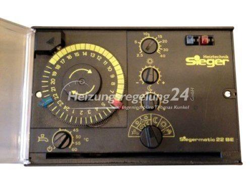 Siegermatic 22BE RVP 51.170 Steuerung Regelung