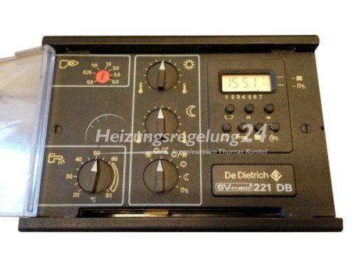 De Dietrich SV-matic 221 DB 221DB Steuerung Regelung