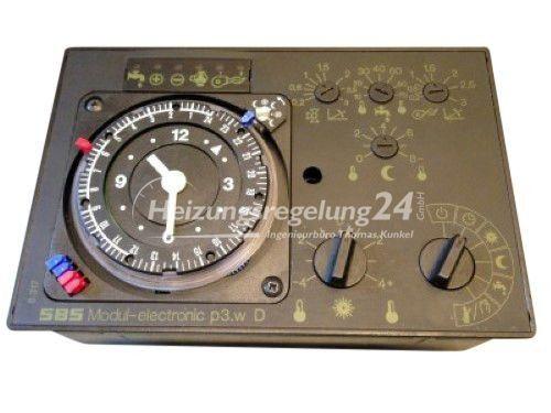 SBS p3.w p3.a Heizelektronic Steuerung Regelung