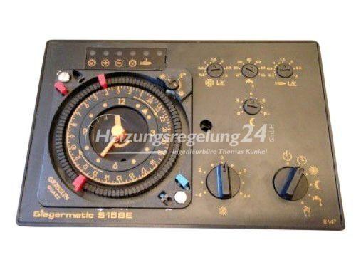 Siegermatic S15 DBE S15 BE SBS p3.w Steuerung Regelung
