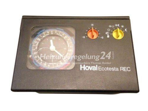 Hoval Elesta Ecotesta REC Steuerung Regelung mit Warmwasser