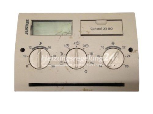 Justus Control Gamma 23 BO Steuerung Regelung