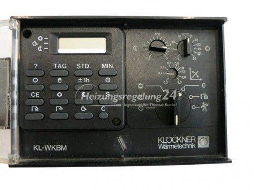 Klöckner KL-WKBM Steuerung Regelung