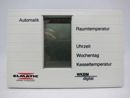 Elmatic WKBM Digital Steuerung Regelung