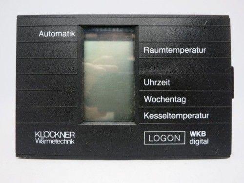 Klöckner Logon WKB digital Steuerung Regelung
