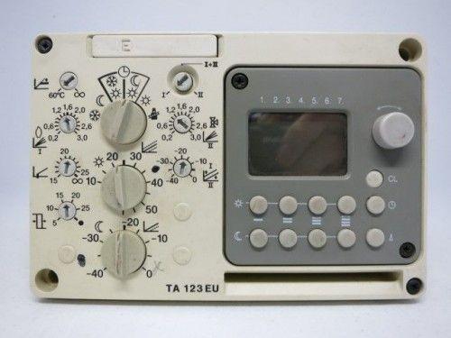Junkers TA123 EU TA 123 EU Steuerung Regelung