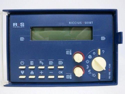 Riccius + Seibt R+S RU 98.1F-120 Steuerung Regelung