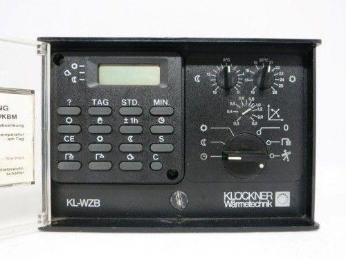 Klöckner KL-WZB Steuerung Regelung