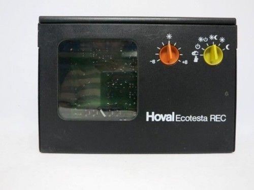 Hoval Elesta Ecotesta REC Steuerung Regelung ohne Warmwasser ohne Uhr