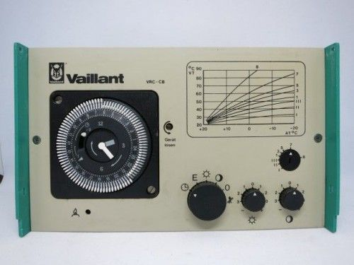Vaillant VRC-CB Steuerung Regelung grün grau