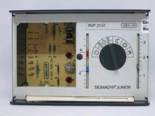 Landis & Gyr SIGMAGYR JUNIOR RVP 21.51 Steuerung Regelung ohne Uhr