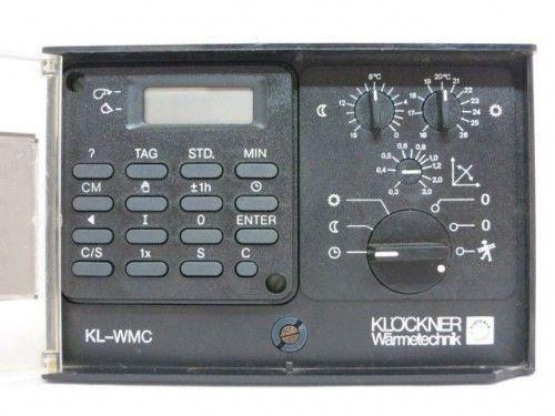 Klöckner KL-WMC Steuerung Regelung