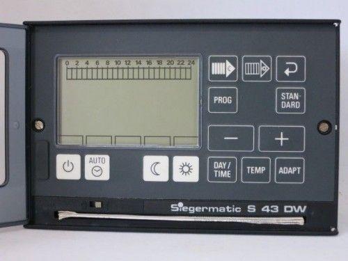 Siegermatic S 43 DW Steuerung Regelung