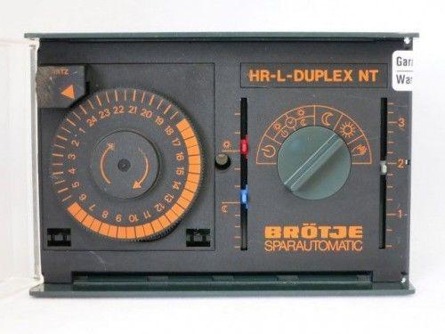 Brötje SPARAUTOMATIC HRL Duplex NT Steuerung Regelung