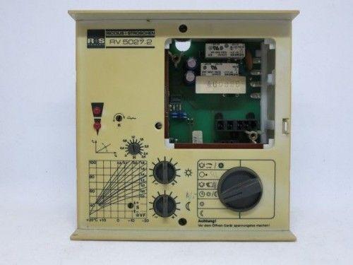 Riccius + Stroschen R+S RV 5027.2 Steuerung Regelung ohne Uhr