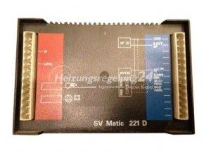 De Dietrich SV-matic 221 D 221D Steuerung Regelung