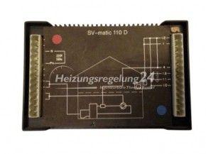 De Dietrich SV-matic 110 D 110D Steuerung Regelung