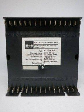 Riccius + Stroschen R+S RU 56-1F-120 RU56 RU 56 Steuerung Regelung
