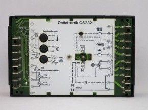 Oreg Ondatronik GS232 Steuerung Regelung