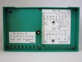 Vaillant VRC-CM Steuerung Regelung grün grau