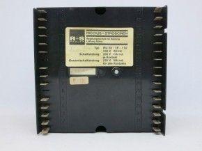 Riccius + Stroschen R+S RU55-1F-110 RU55 RU 55 Steuerung Regelung